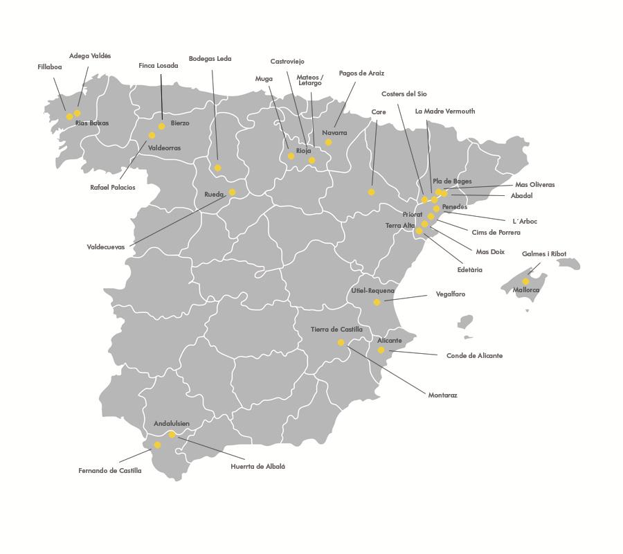 Valdeorras Spanien